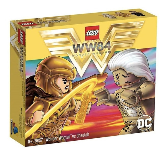 Lego Dc Comics Wonder Woman Vs Cheetah 76157 Original