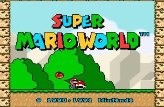Super Mário World Para Pc Mídia Digital