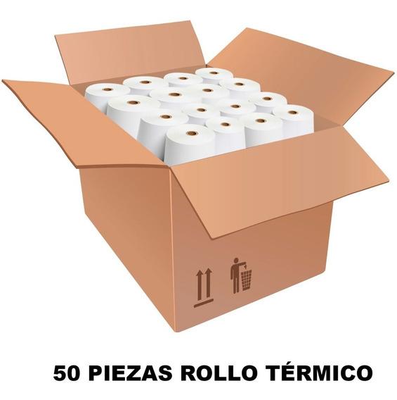 Papel Rollo Termico 80x80 Pcm Impresora Termica Mini Printer Caja 50pz Mayoreo