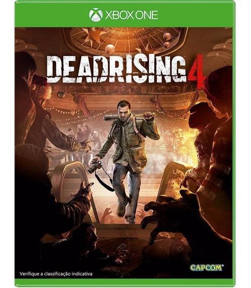 Jogo Dead Rising 4 - Xbox One Mídia Física Original Lacrado