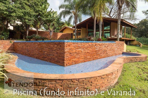 Imagem 1 de 26 de Imob04 - Casa 550 M² - Venda - 3 Dormitórios - 3 Suítes - Portal Da Raposo - Sorocaba/sp - Ca0611
