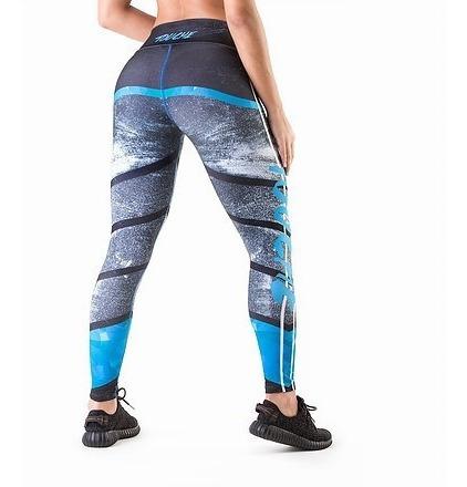 Ropa Fitness Leggings Calza Deportiva Mujer Lycra Sport
