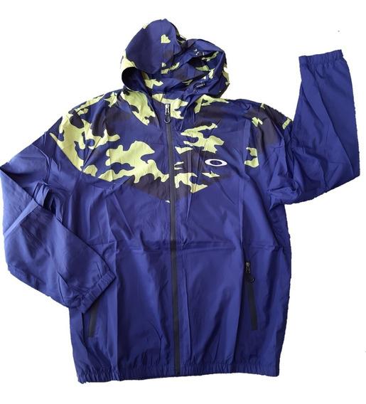 Jaqueta Corta Vento Okly Camuflada Verde Melhor Valor