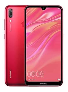 Celular Libre Huawei Y7 2019 /32gb/ 3 Ram +forro Goma