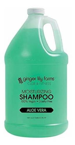 Ginger Lily Farms Aloe Vera Shampoo Galón