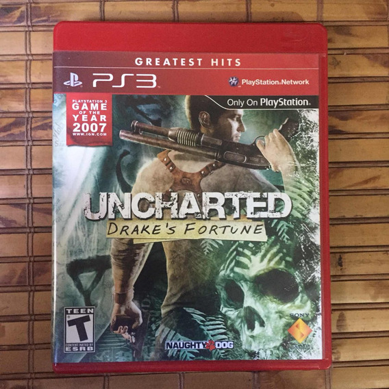 Jogo Ps3 - Uncharted Drake
