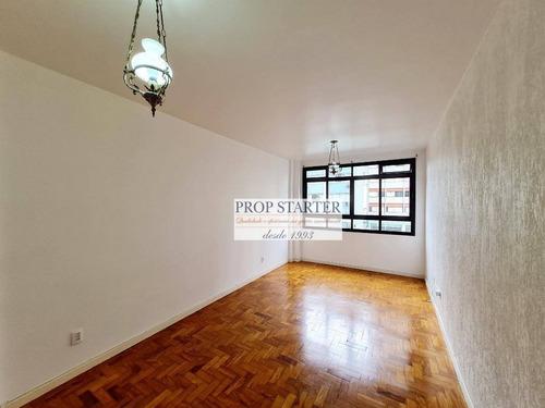 Imagem 1 de 11 de Apartamento Com 1 Dormitório Para Alugar, 30 M² Por R$ 1.350/mês - Vila Buarque - Prop Starter Adm. Imóveis - Ap0845