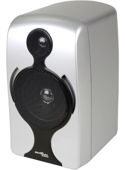 Caixa De Som Micro System Britânia Bs 336 Cinza 5w