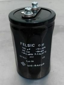 Capacitor Eletrolítico 1500uf 400v Felsic