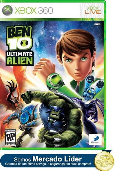 Ben 10 Ultimate Alien Cosmic Destruction Original Xbox 360