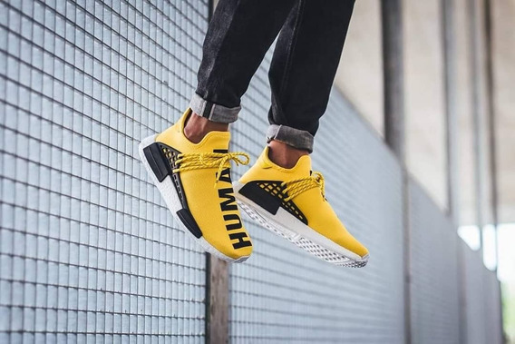 adidas Nmd Pw Human Race Yellow Black