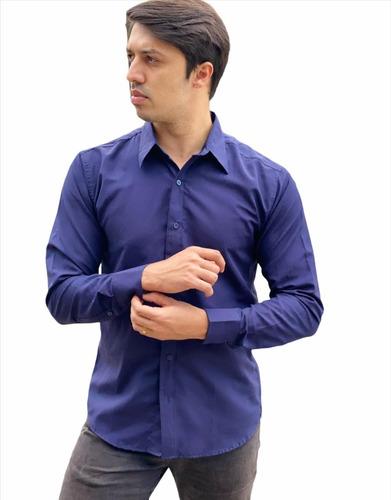 Imagem 1 de 1 de Camisas Social Masculina Slim - Atacado - Pp Ao Gg -promoçao
