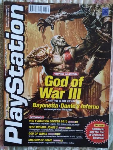 Revista Playstation Nº 132 God Of War 3 Bayonetta Dante's