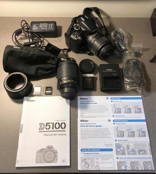 Câmera Nikon D5100 + Acessórios Extras