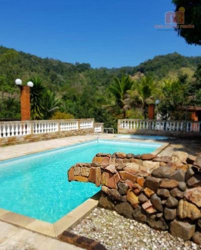 Imagem 1 de 27 de Chácara Com 4 Dormitórios À Venda, 7560 M² Por R$ 450.000,00 - Parque Três Meninos - Itariri/sp - Ch0107