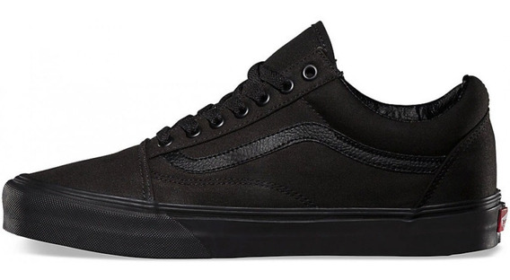 Tenis Vans Old Skool Originales Blanco Negro En Caja Full