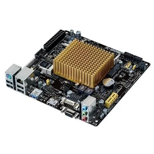 Placa Mae J1800i-c/br Asus P/ Celeron Dual Core + Garantia