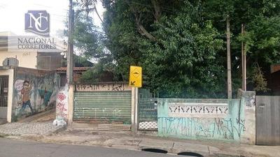 Terreno Residencial À Venda, Vila Curuçá, Santo André. - Te0714