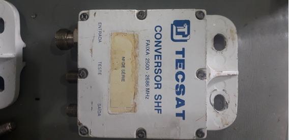 Conversor Shf Tecsat Donw Converter 4 Unid Frete Grátis