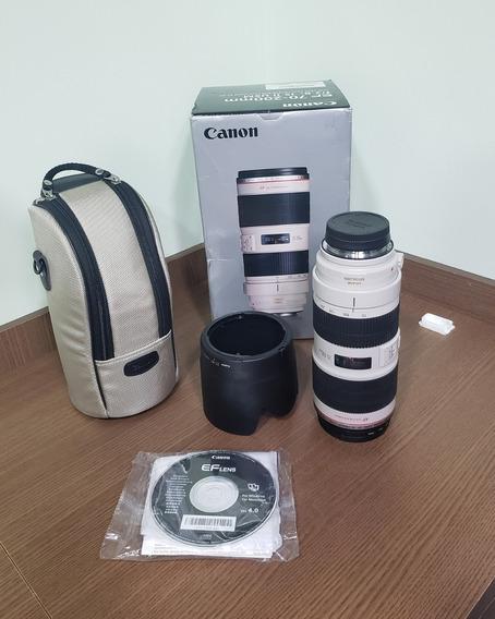 Lente Canon 70-200 2.8 Is Ii Usm