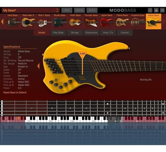 Modo Bass 1.5 - Ik Multimedia