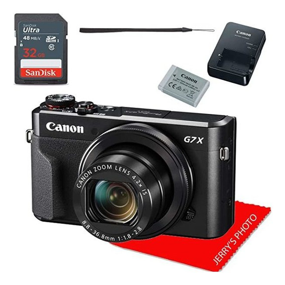 Camara Canon Powershot G7 X Mark Ii Digital + 32gb Memory ®