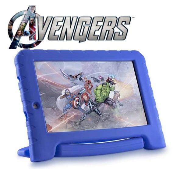 Tablet Infantil Dos Vingadores Kid Pad Discovery Kids Tela 7