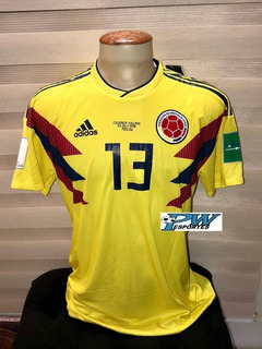 Camisa Colombia Copa Do Mundo 2018 #13 Mina