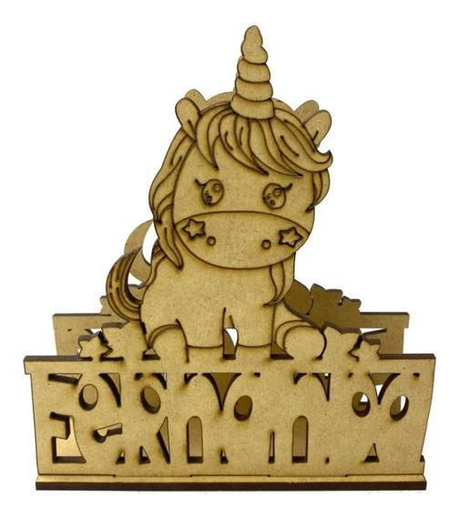 Servilletero Personalizado En Forma De Unicornio Art1207