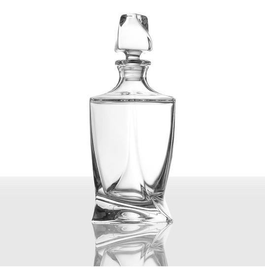 Decanter De Whisky Crystal Bohemia Europeo Alta Gama Unico