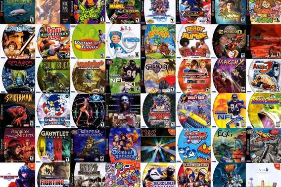 10 Jogos Sega Dreamcast - Estampados A Escolha - Patch