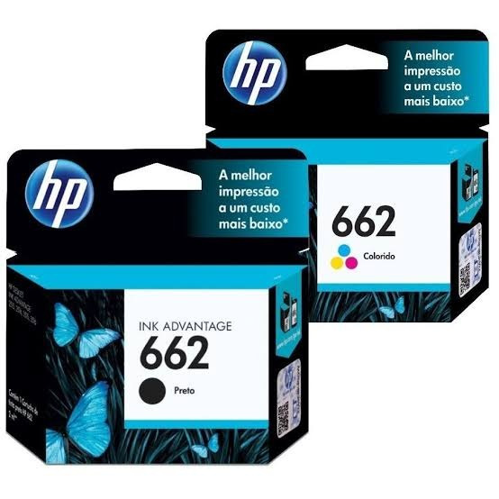 Kit Cartucho Hp 662
