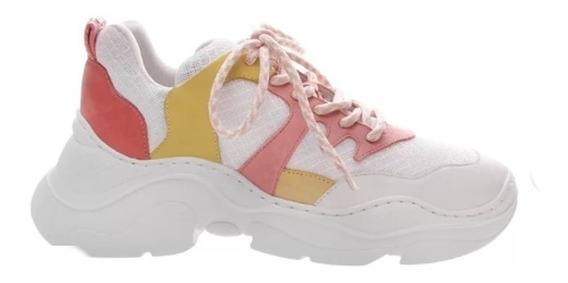 Tênis Schutz Chunky Sneaker S.95-20 Yellow