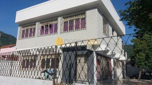Casa Comercial 5 Quartos, 1 Suíte, São Francisco, Niterói. - Ca0446
