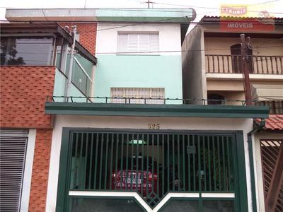 Sobrado Com 3 Dormitórios À Venda, 153 M² Por R$ 420.000 - Jardim Utinga - Santo André/sp - So0297