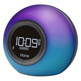 Ihome Ibt29bc Altavoz Bluetooth, Radio Fm Y Alarma