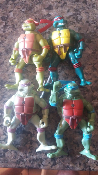 Kit Com 4 Bonecos Tartaruga Ninja C/luzes - Lote 3