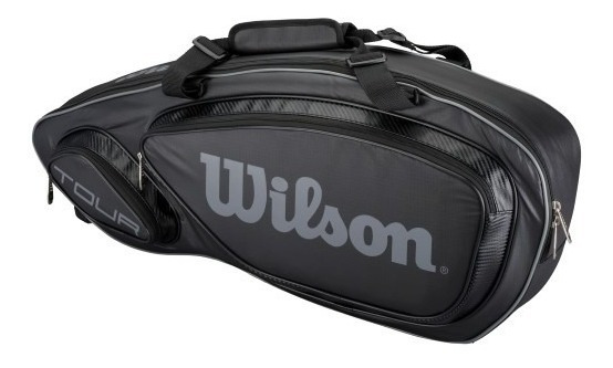 Raquetero Wilson Tenis Tour V 3 Pack