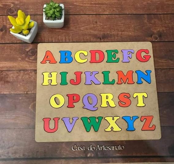 Jogo Educativo Infantil Alfabeto Abc Brinquedos Criança