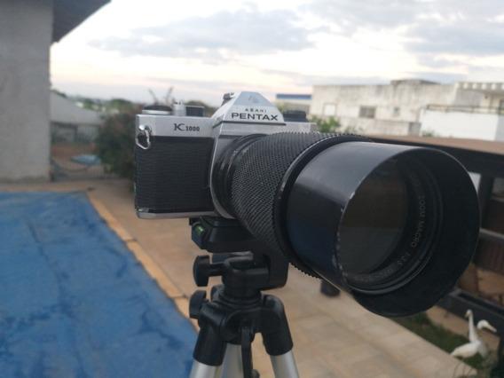 Câmera Antiga Pentax K 1000 E Cosina