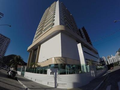 Apartamento Com 2 Suítes E 2 Vagas Para Alugar, 86 M² Por R$ 2.350/mês - Canto Do Forte - Praia Grande/sp - Ap2817