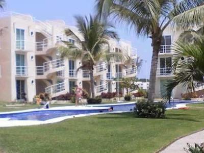 Departamento En Acapulco Diamante Amueblado Alberca