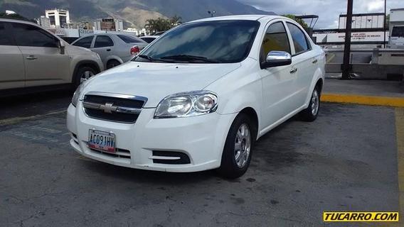 Chevrolet Aveo Lt-sincrónico