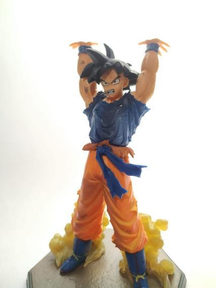 Boneco Miniatura Action Figure Goku Genki Dama Dragon Ball