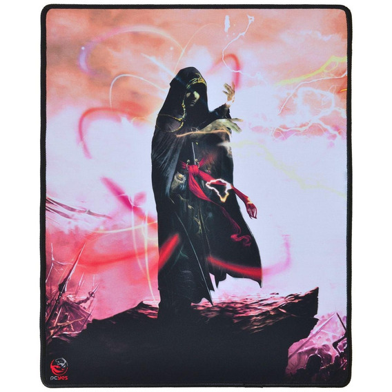 Mouse Pad Gamer Pcyes Rpg Wizard 40x50 Cm