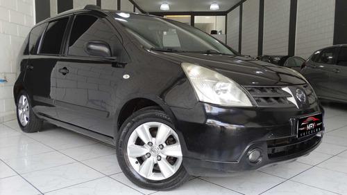 Nissan Livina 1.6 S 2012 Flex 5p + Couro + Gas