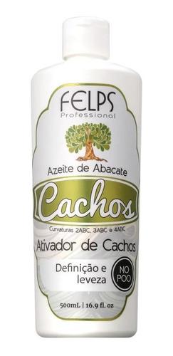 Felps Ativador De Cachos 500ml - Azeite De Abacate + Brinde