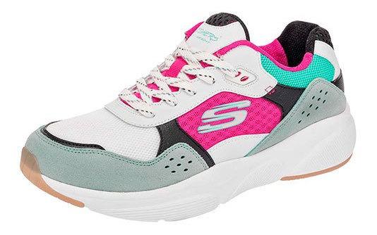 Skechers Sneaker Deporte Niño Blanco Memoryfoam Btk87329