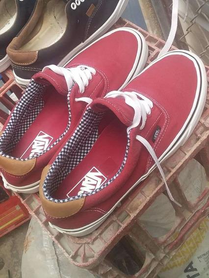 Zapatos Vans Talla 41,42 Rojos