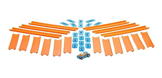 Track Builder Hot Wheels Pista Conexao C/ 4,5 Metros Bht77